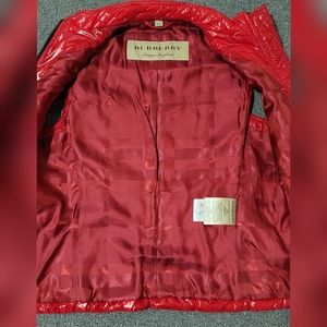 Burberry Brit Zip Puffer Vest size 38